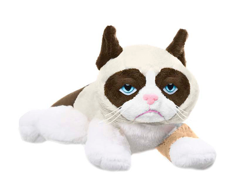 Huge Grumpy Cat Stuffed Animal