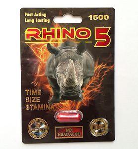 Rhino 5 male enhancement ingredients effective